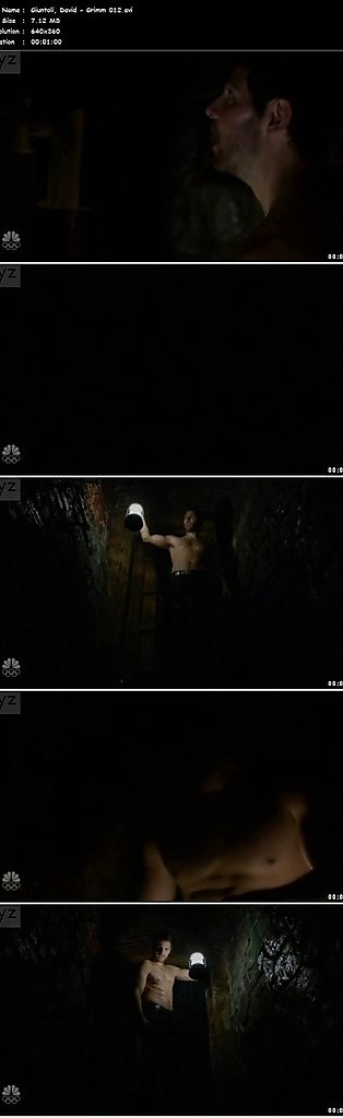 David Giuntoli sexy shirtless scene March 29, 2016, 8pm