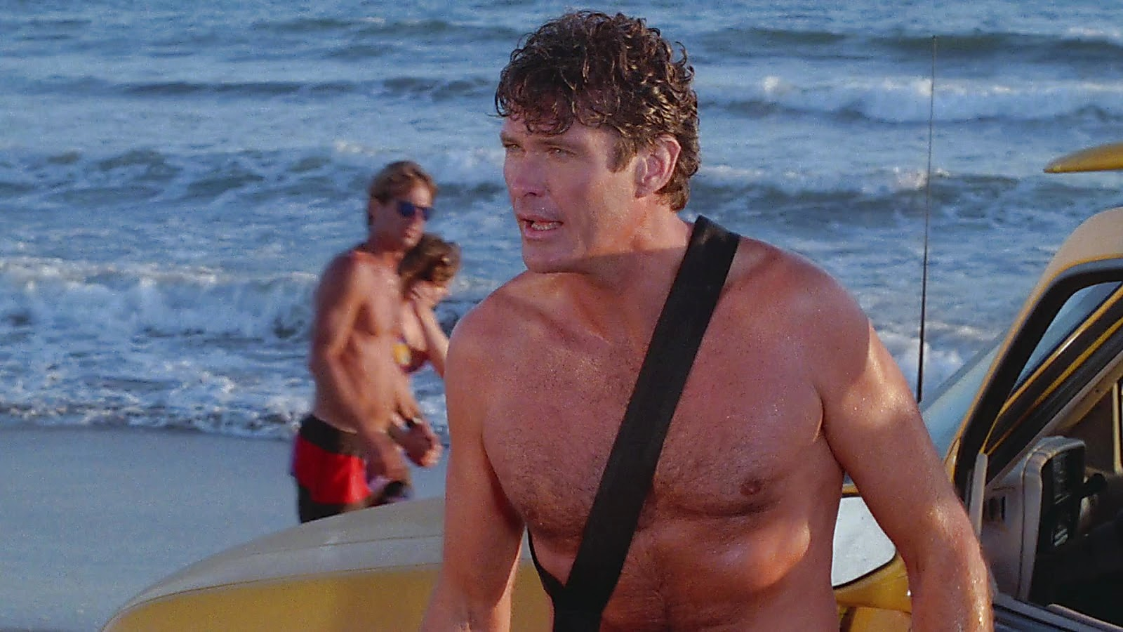 David Hasselhoff sexy shirtless scene May 15, 2019, 10am