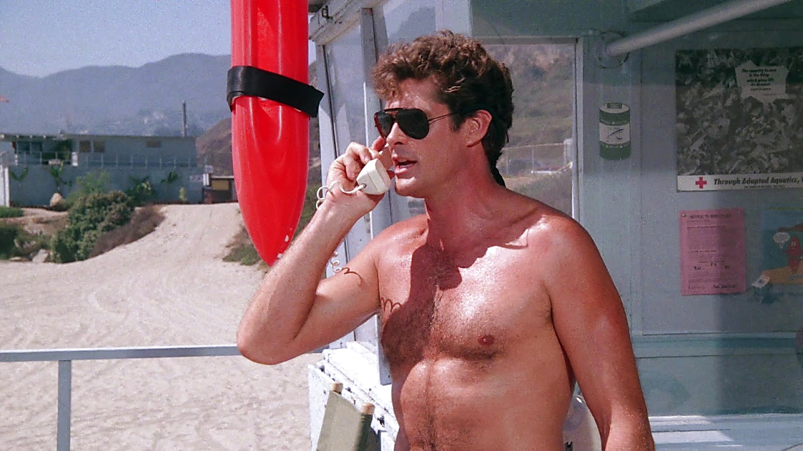 David Hasselhoff sexy shirtless scene May 26, 2019, 12pm