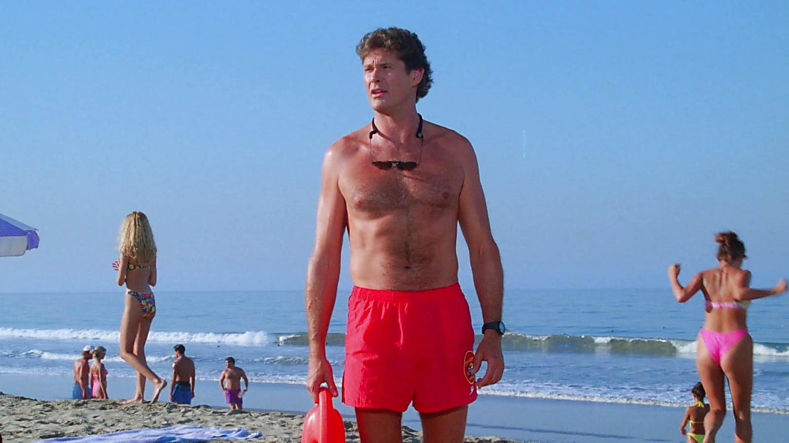 David Hasselhoff sexy shirtless scene June 1, 2019, 2pm