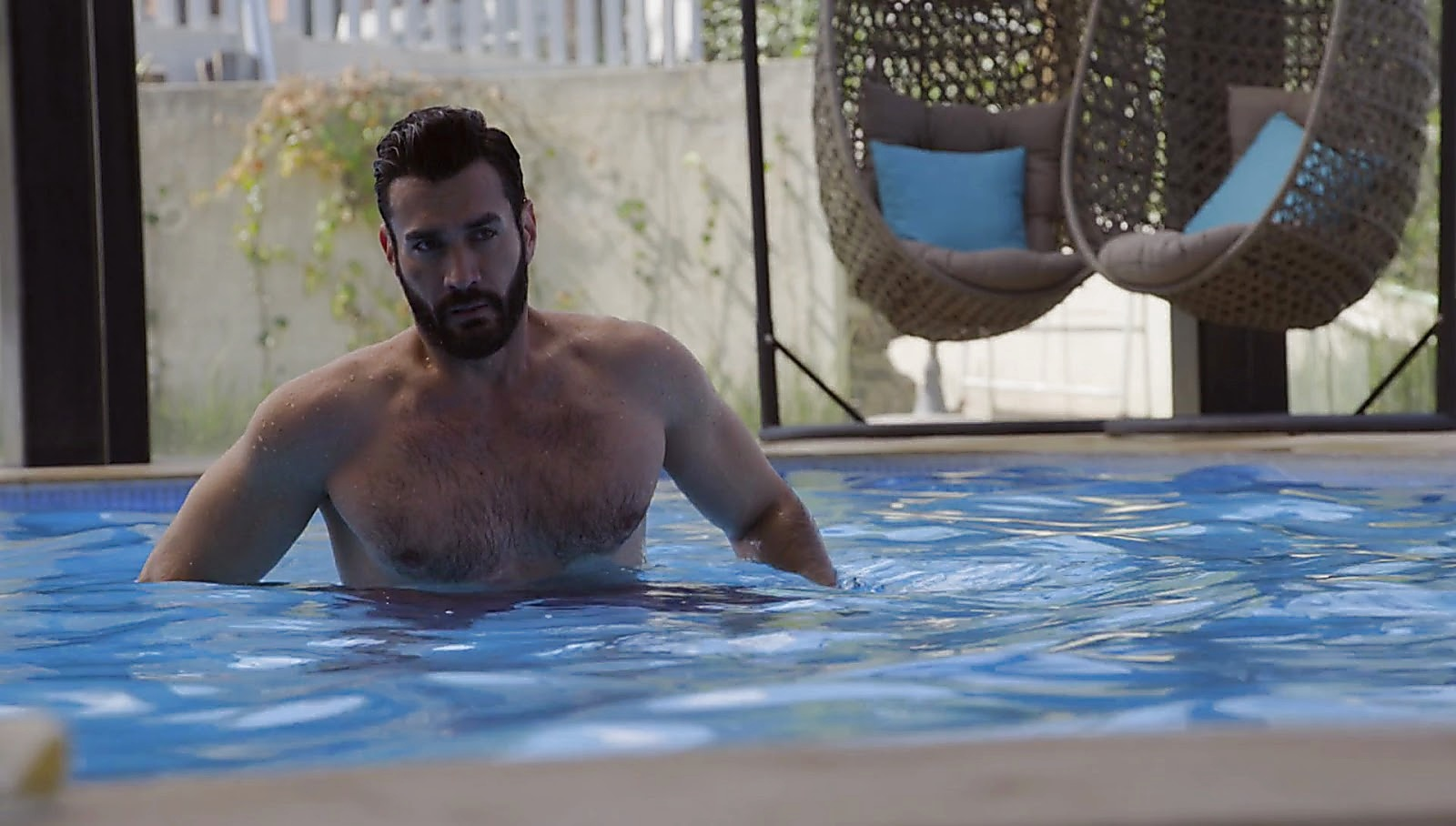 David Zepeda sexy shirtless scene June 19, 2017, 1pm