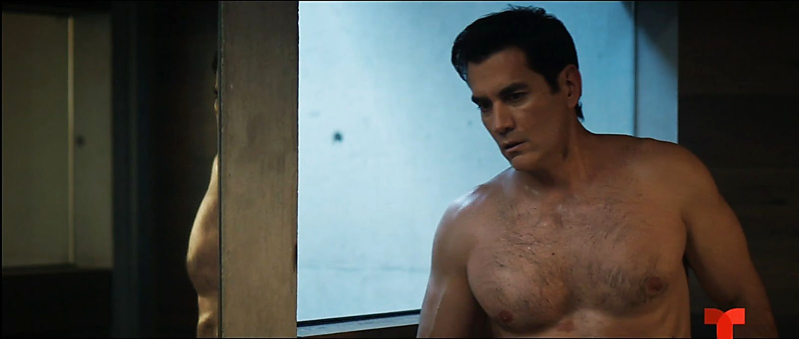 David Zepeda sexy shirtless scene February 23, 2020, 1pm
