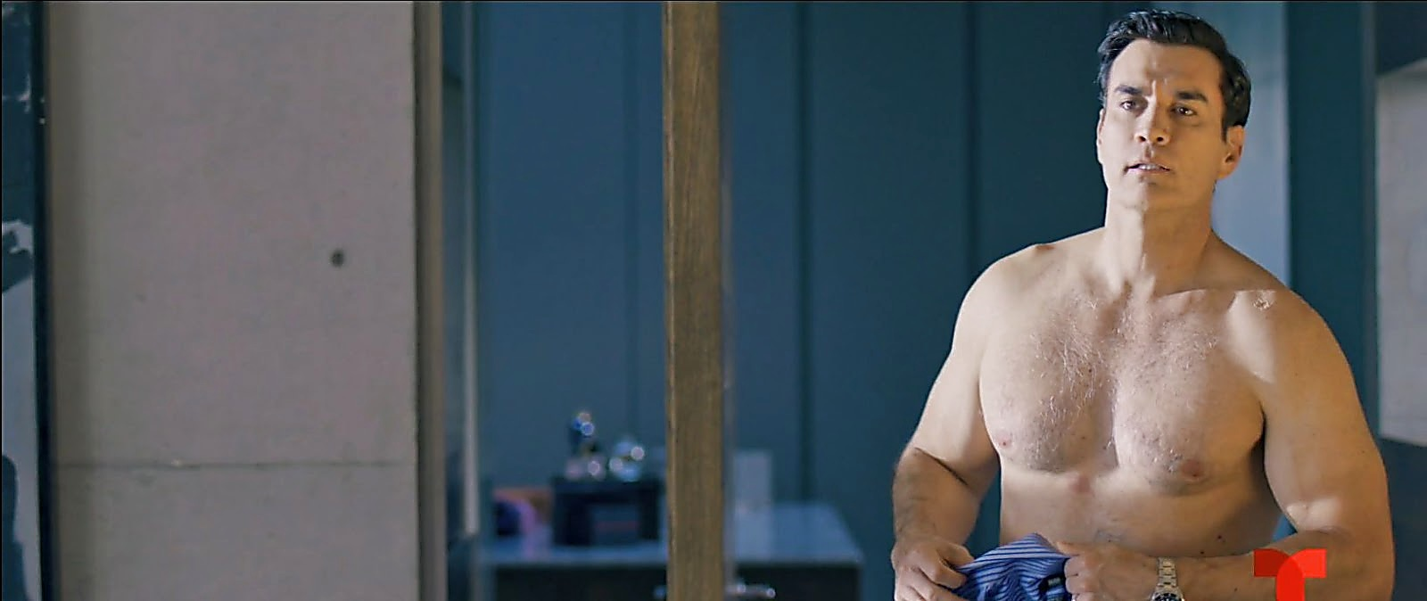 David Zepeda sexy shirtless scene March 14, 2020, 9am