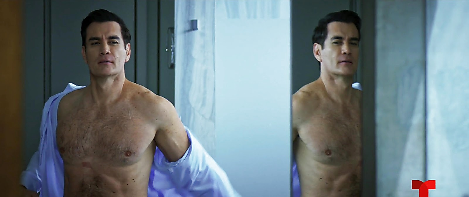 David Zepeda sexy shirtless scene July 24, 2020, 4am