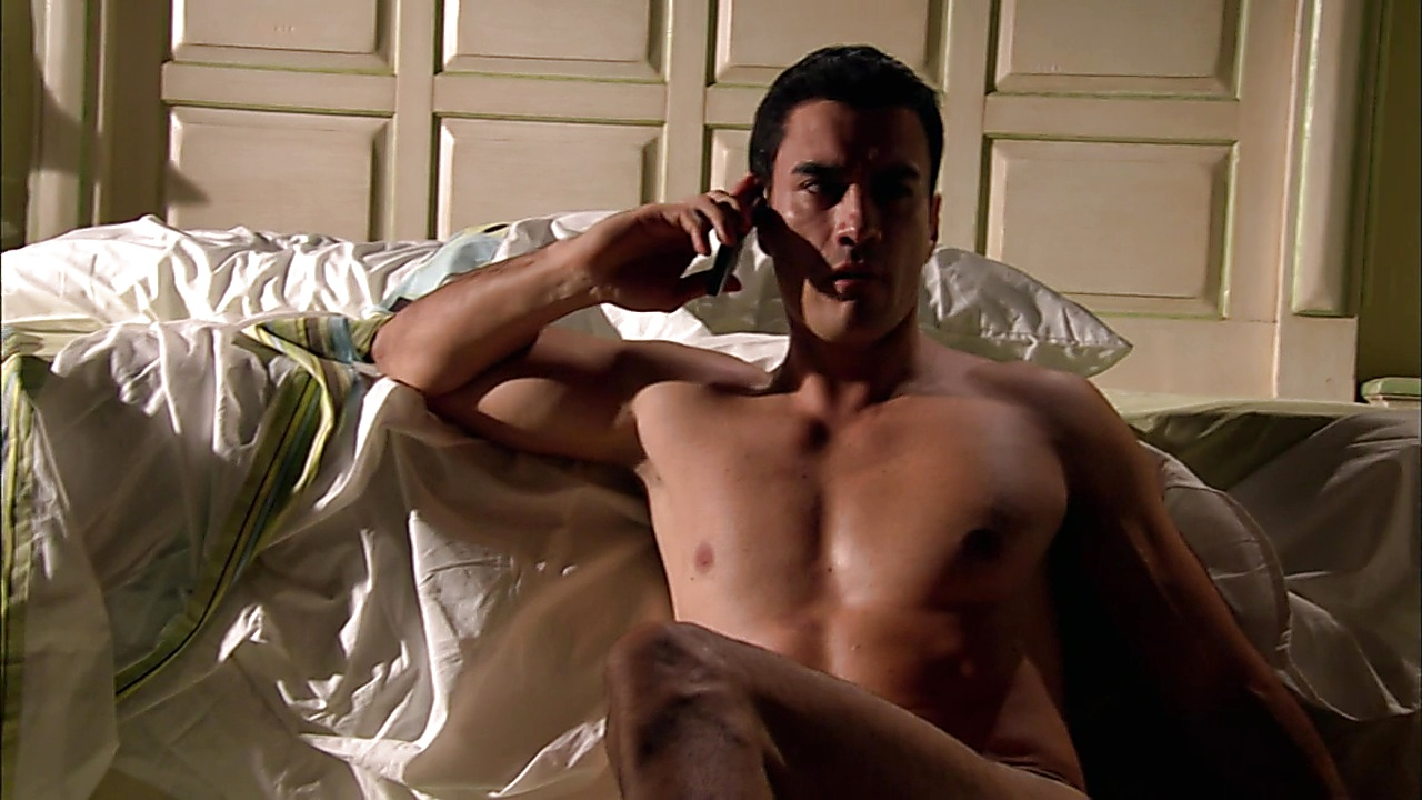 David Zepeda sexy shirtless scene March 18, 2020, 1pm