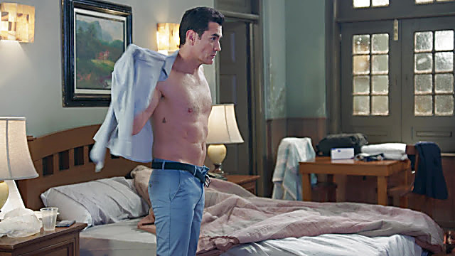 David Zepeda sexy shirtless scene January 21, 2021, 6am