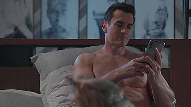 David Zepeda sexy shirtless scene January 14, 2021, 7am