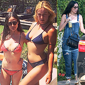 Demi Moore latest sexy shirtless June 23, 2015, 7pm