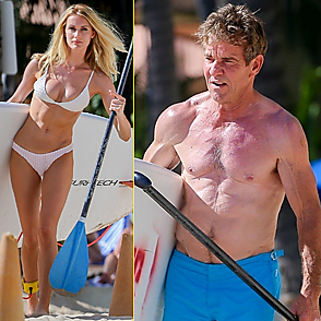 Dennis Quaid latest sexy shirtless October 20, 2019, 2pm