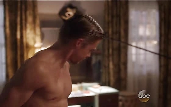 Derek Hough sexy shirtless scene October 27, 2014, 11am