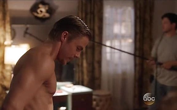 Derek Hough sexy shirtless scene October 27, 2014, 11am