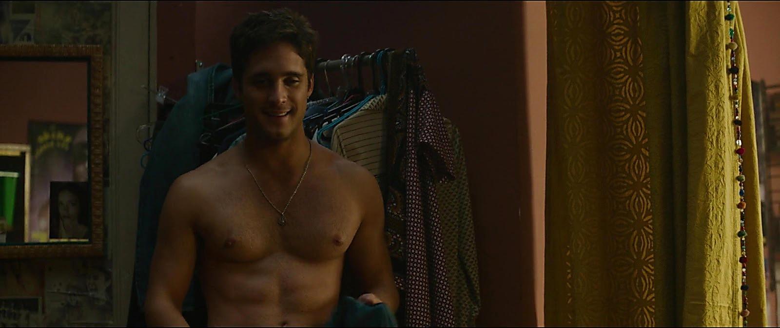 Diego Boneta sexy shirtless scene February 29, 2020, 6am