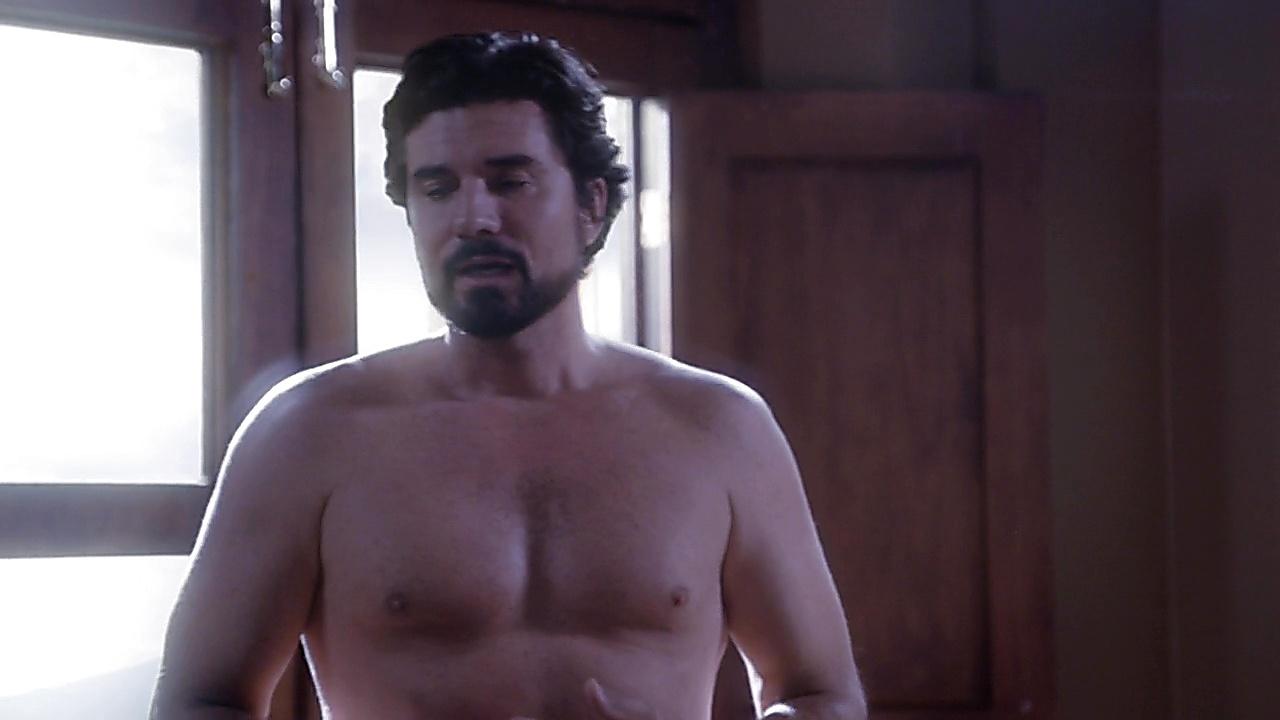 Diego Olivera sexy shirtless scene February 24, 2019, 11am