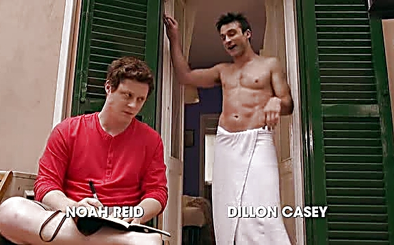 Dillon Casey sexy shirtless scene July 27, 2014, 8pm