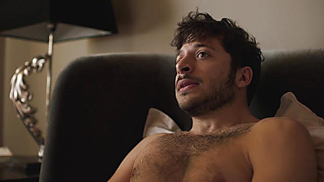 Dimitri Leonidas sexy shirtless scene November 18, 2020, 6am