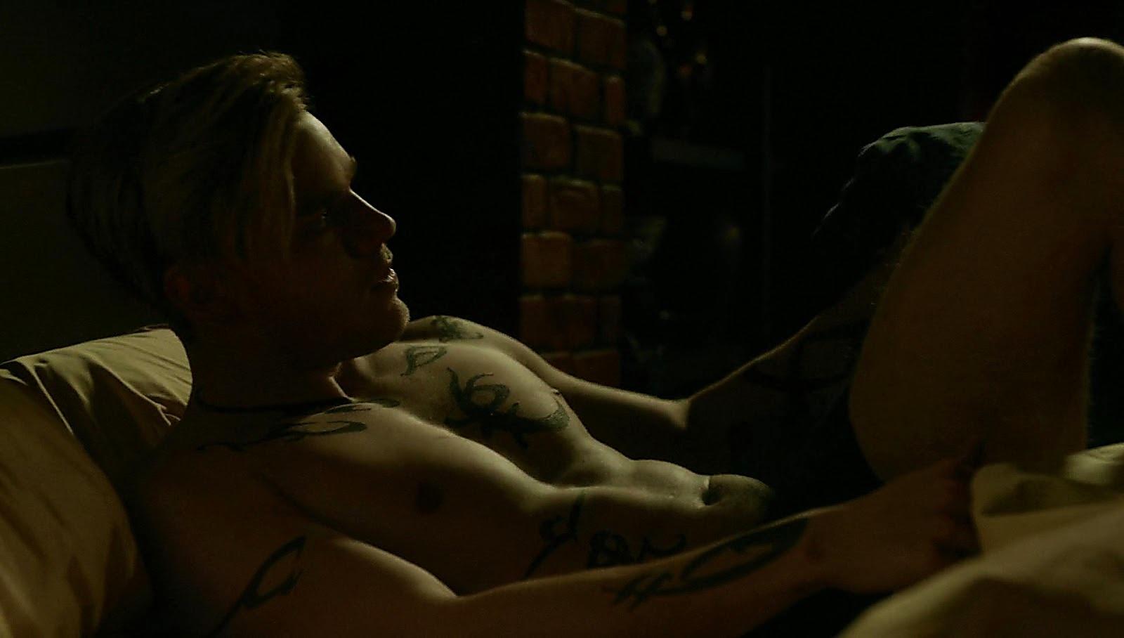 Dominic Sherwood latest sexy shirtless scene February 15, 2017, 12pm