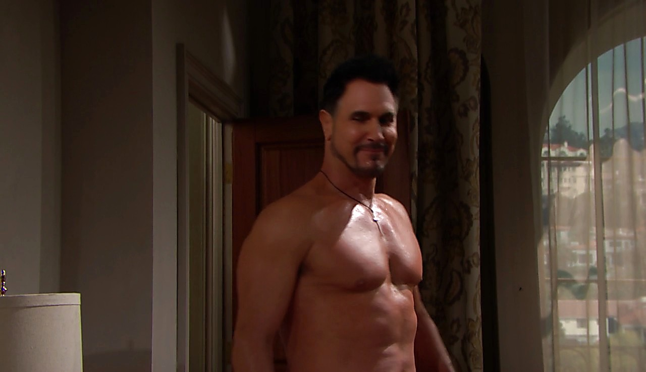 Don Diamont sexy shirtless scene April 25, 2017, 12pm