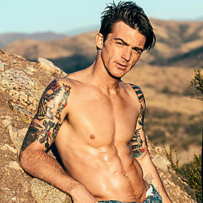 Drake Bell latest sexy shirtless June 20, 2017, 8pm