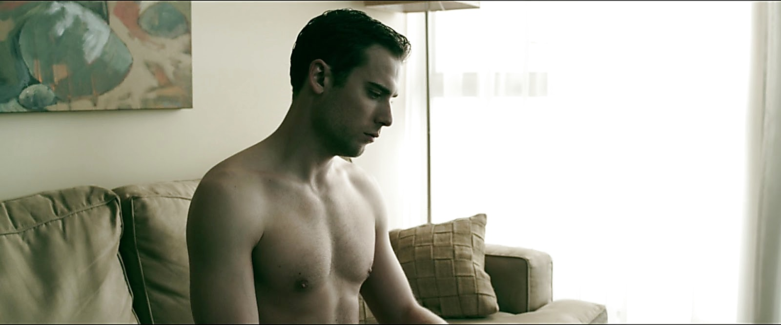 Dustin Milligan sexy shirtless scene February 25, 2019, 8am
