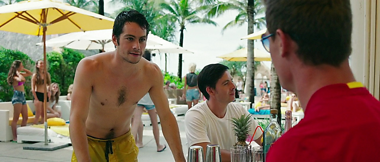 Dylan O Brien sexy shirtless scene November 21, 2017, 2pm