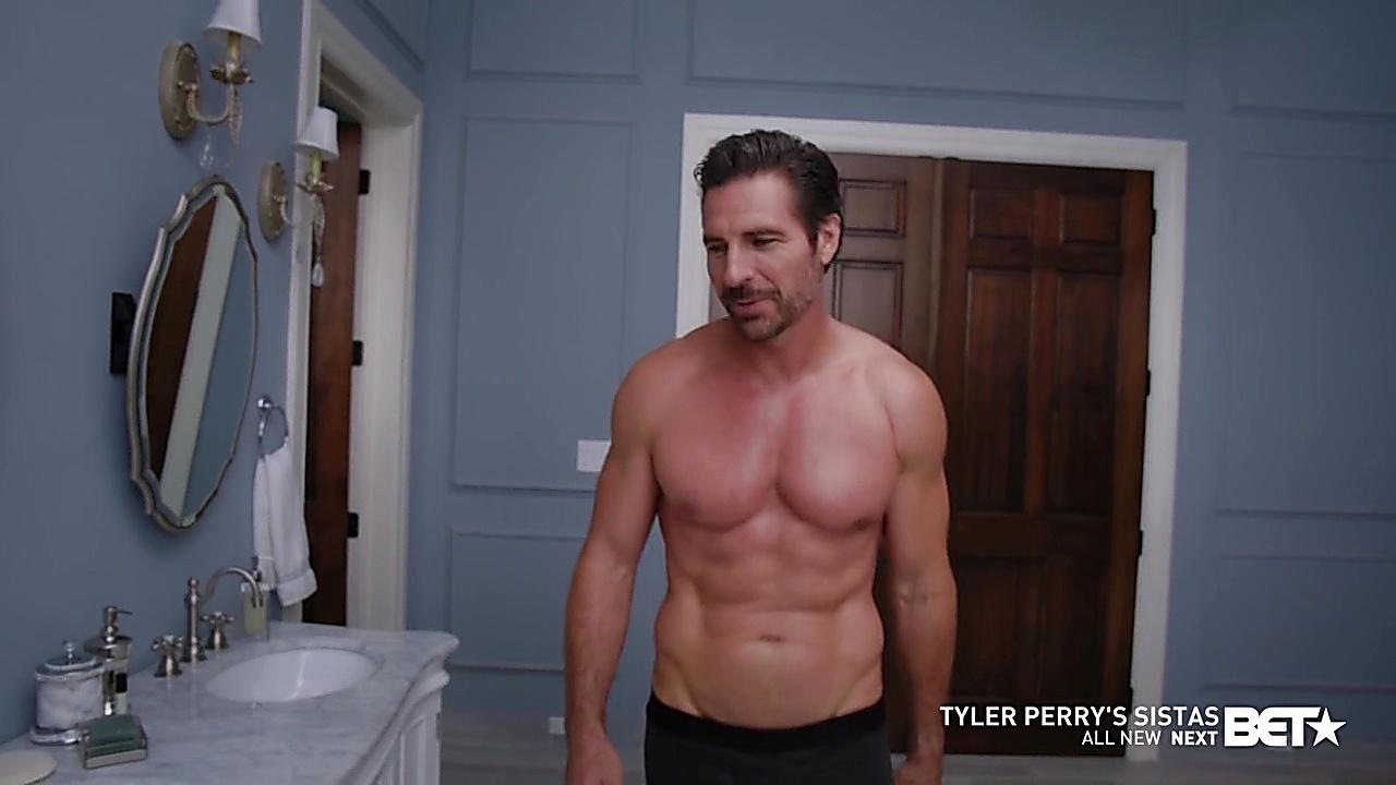 Ed Quinn sexy shirtless scene January 24, 2020, 8am
