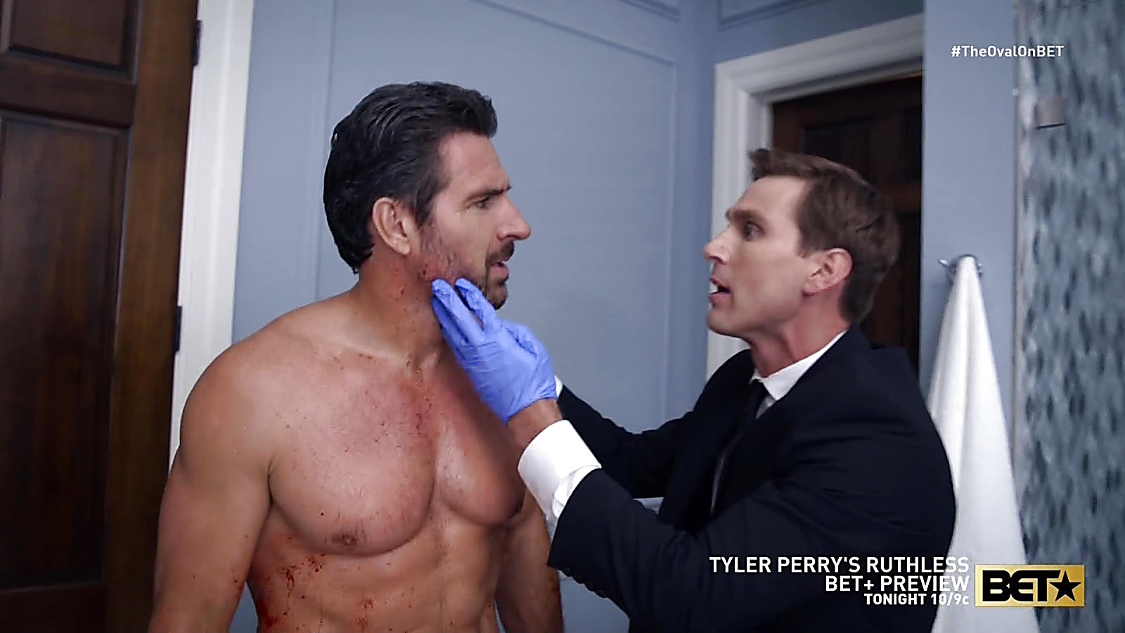 Ed Quinn sexy shirtless scene May 9, 2020, 1pm