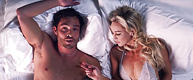 Ed Westwick sexy shirtless scene February 12, 2021, 6am