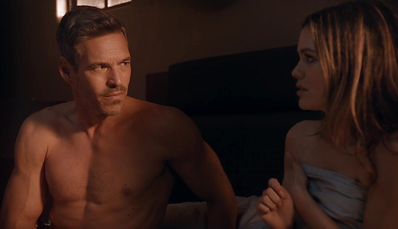 Eddie Cibrian sexy shirtless scene August 7, 2018, 11am