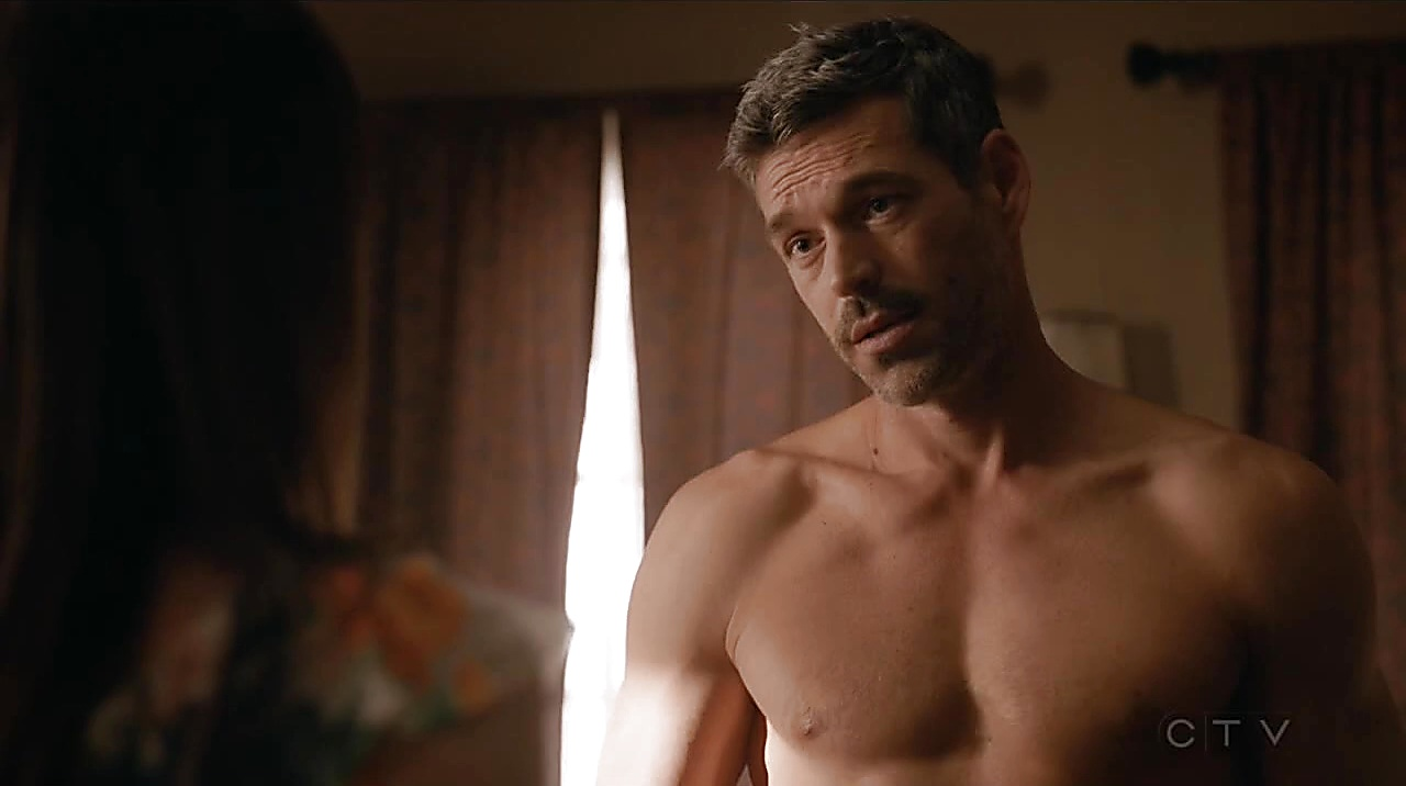Eddie Cibrian sexy shirtless scene September 14, 2018, 10am