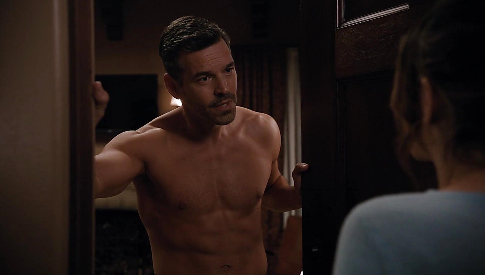 Eddie Cibrian sexy shirtless scene June 22, 2018, 11am