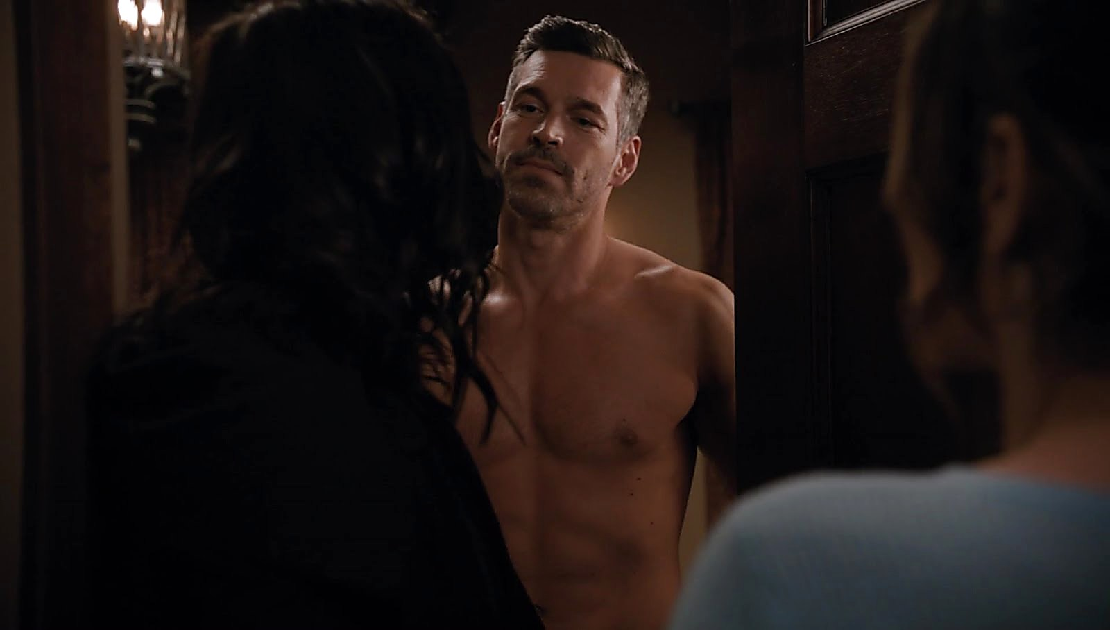 Eddie Cibrian sexy shirtless scene June 22, 2018, 11am
