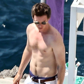 Eddie Redmayne latest sexy shirtless August 24, 2019, 10am