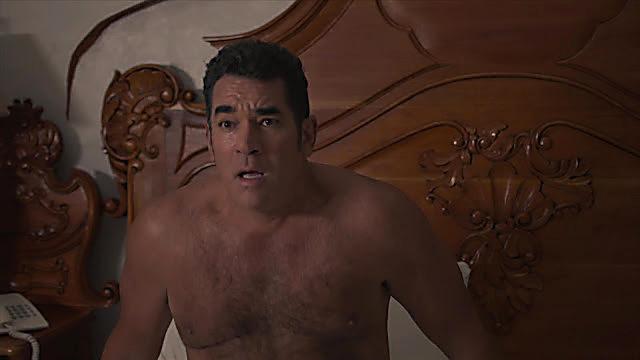 Eduardo Santamarina sexy shirtless scene September 2, 2021, 5am