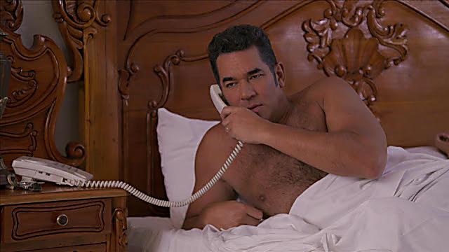Eduardo Santamarina sexy shirtless scene September 4, 2021, 11am
