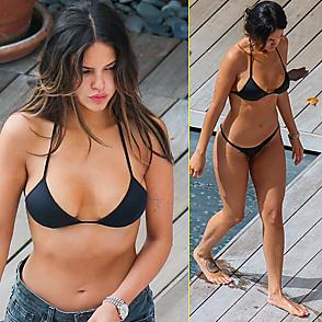 Eiza Gonzalez latest sexy shirtless December 8, 2018, 8pm