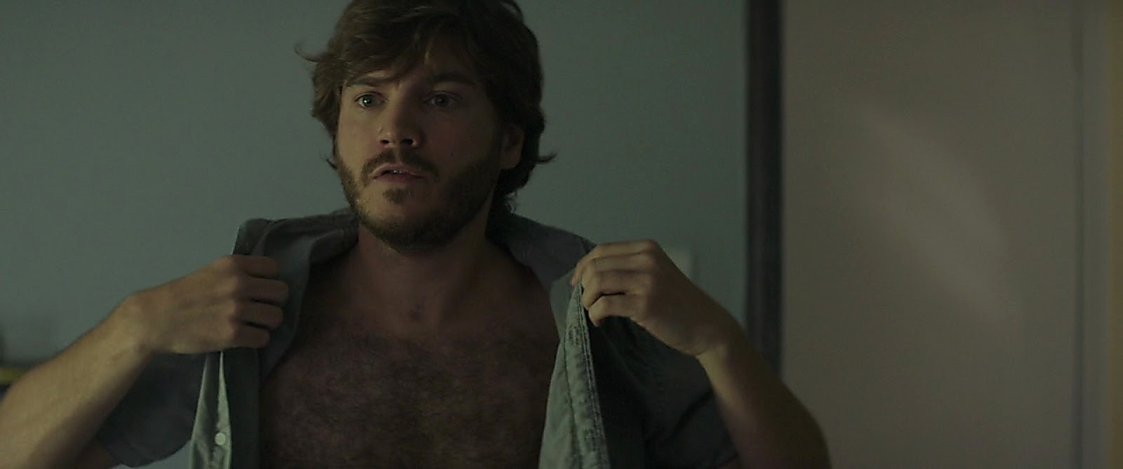 Emile Hirsch sexy shirtless scene March 25, 2017, 1pm