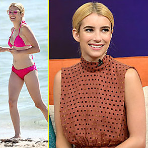 Emma Roberts latest sexy shirtless July 14, 2016, 9pm