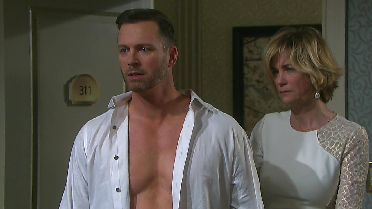 Eric Martsolf sexy shirtless scene September 1, 2018, 1pm