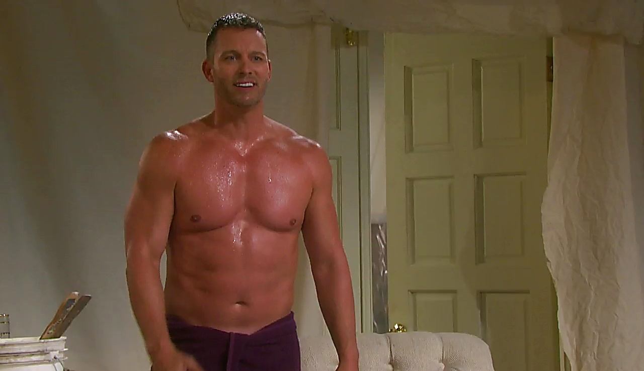 Eric Martsolf sexy shirtless scene January 27, 2018, 3pm