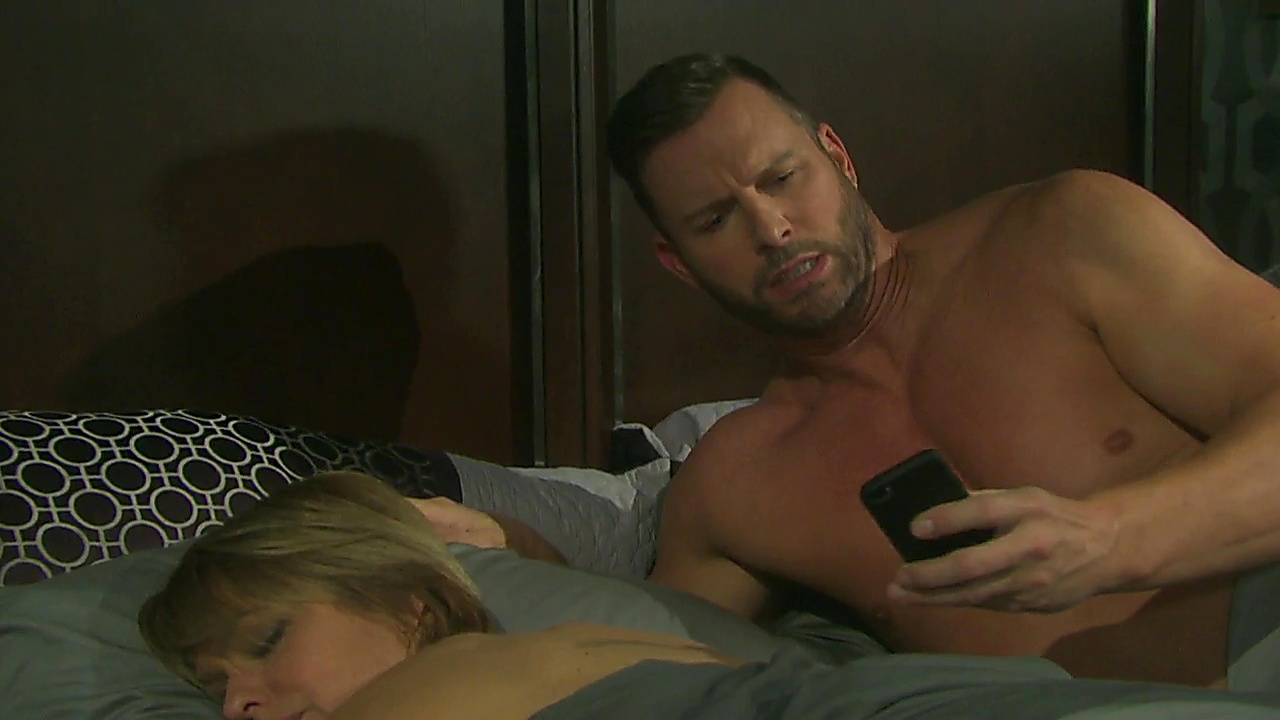 Eric Martsolf sexy shirtless scene August 17, 2019, 1pm