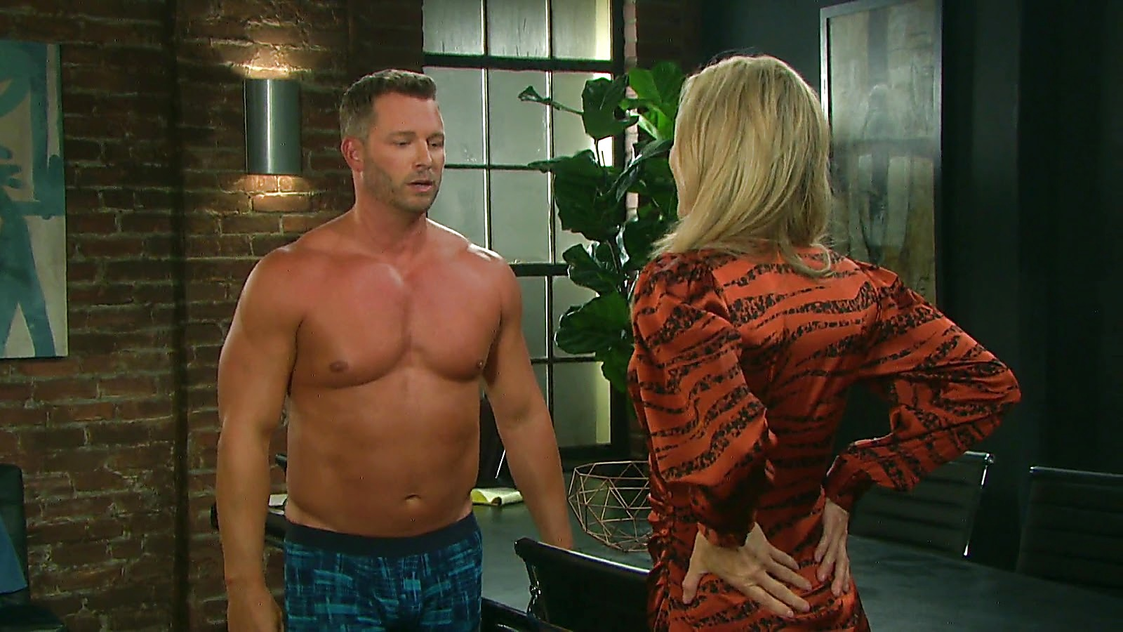 Eric Martsolf sexy shirtless scene March 21, 2020, 9am
