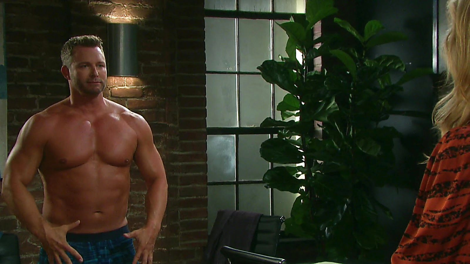 Eric Martsolf sexy shirtless scene March 25, 2020, 11am