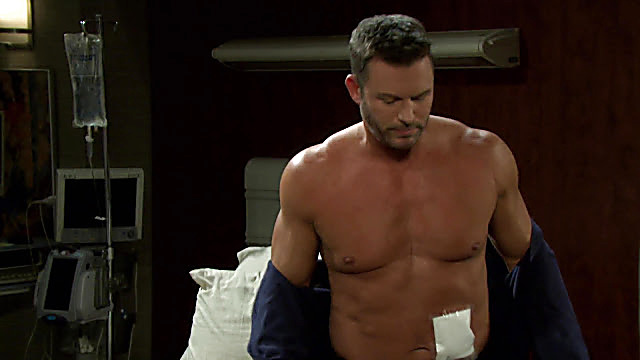 Eric Martsolf sexy shirtless scene February 18, 2021, 4am