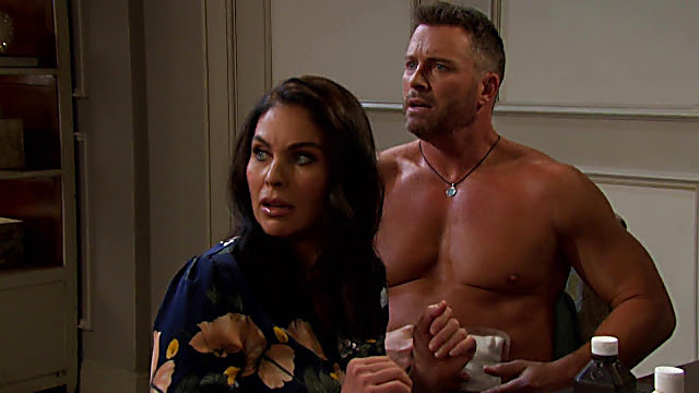 Eric Martsolf sexy shirtless scene February 25, 2021, 5am