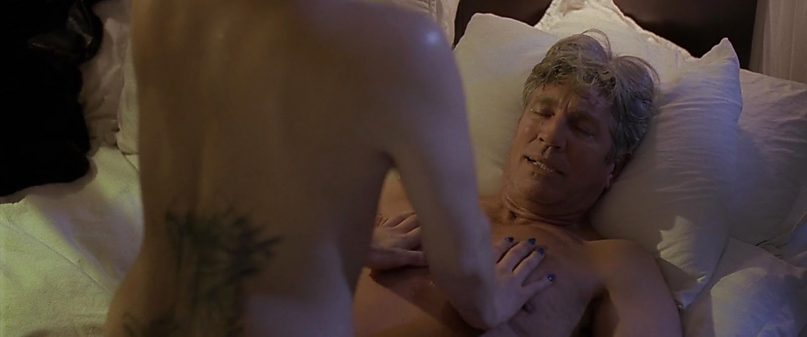 Eric Roberts latest sexy shirtless scene December 6, 2017, 1pm