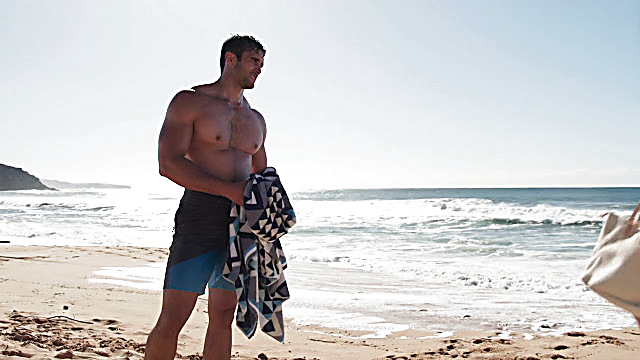 Ethan Browne sexy shirtless scene September 10, 2021, 4am