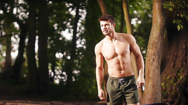 Eugen Bauder sexy shirtless scene November 21, 2020, 12pm