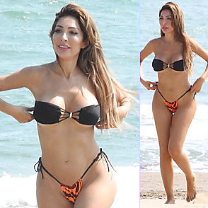 Farrah Abraham latest sexy shirtless August 30, 2019, 9am