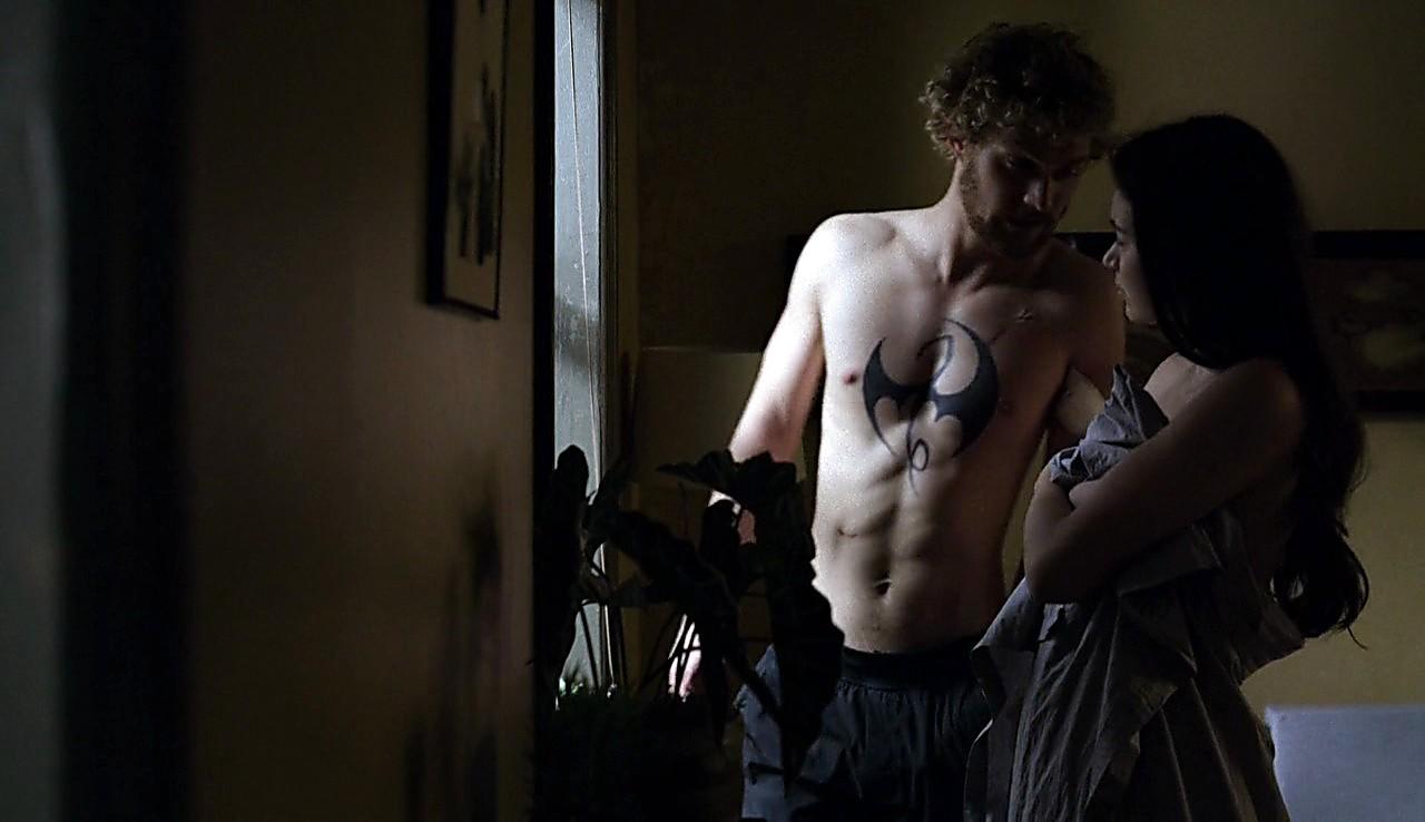 Finn Jones sexy shirtless scene March 18, 2017, 4pm