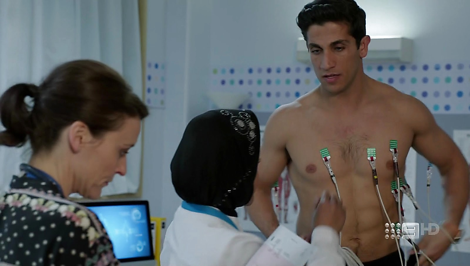 Firass Dirani sexy shirtless scene May 7, 2017, 12pm